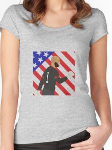 Tim Howard Transparent for T-Shirts Women's Fitted Scoop T-Shirt