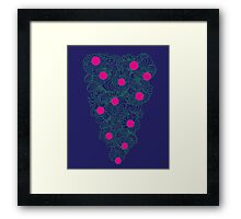 Cheerful Life Tree Framed Print