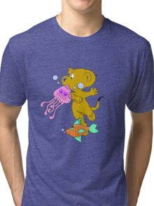 Ferald In The Abyss Tri-blend T-Shirt
