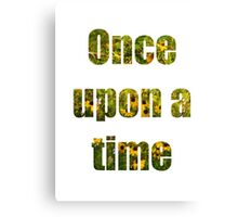 Once Upon A Time- Fairy Garden Canvas Print