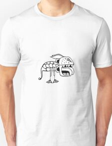 Exotic Primitive Monster Illustration Unisex T-Shirt