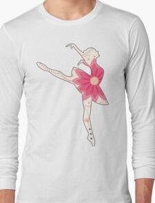 Vintage ballet dancer Long Sleeve T-Shirt