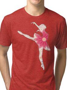 Vintage ballet dancer Tri-blend T-Shirt