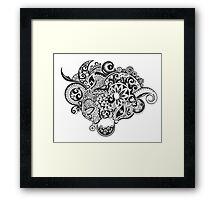 Dream zentangle Framed Print