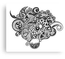 Dream zentangle Canvas Print