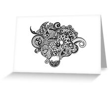 Dream zentangle Greeting Card