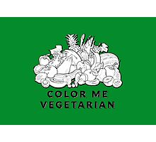 Color Me Vegetarian Photographic Print