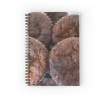 homemade chocolate muffins Spiral Notebook