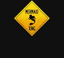 Mermaid Crossing Womens Fitted T-Shirt