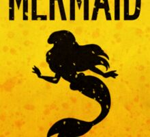 Mermaid Crossing Sticker