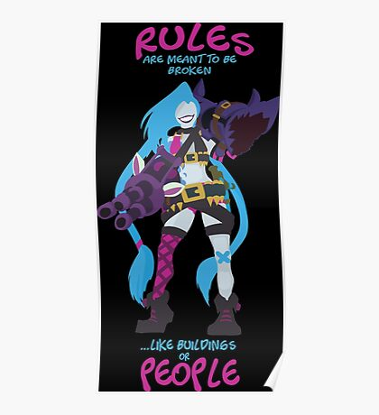 Jinx - Rules are meant to be broken! Poster