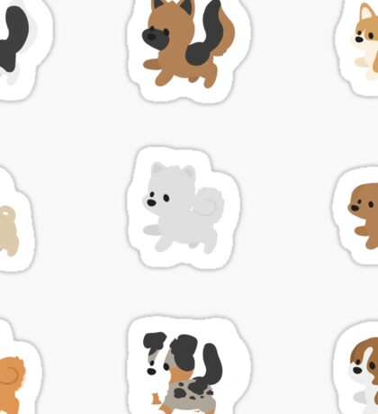 Chibi Puppers Sticker