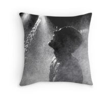 Marathoner Throw Pillow