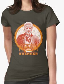 The Adventures of Dr. Martin Brenner Womens Fitted T-Shirt
