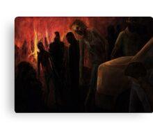 The Ravenous Undead Canvas Print