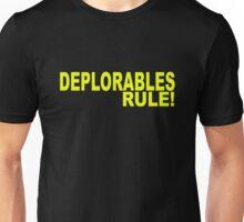 DEPLORABLES RULE 1 Unisex T-Shirt