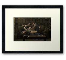 submissive Framed Print