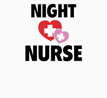 Night Nurse Womens Fitted T-Shirt