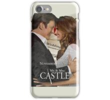 Caskett Wedding iPhone Case/Skin