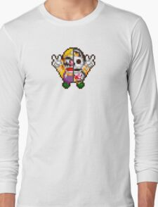 Wario sprite Long Sleeve T-Shirt
