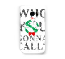 Christmas GhostBusters - Who You Gonna Call?  Samsung Galaxy Case/Skin
