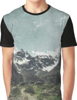 High Valley  Italian Alps Graphic T-Shirt