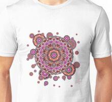Mandala violeta Unisex T-Shirt