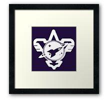Galactic Rangers Framed Print
