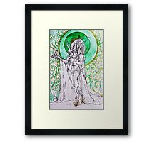 Dryad's Queen Framed Print