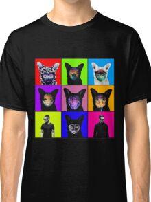 GALANTIS SEAFOX FAMILY POP ART Classic T-Shirt