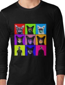 GALANTIS SEAFOX FAMILY POP ART Long Sleeve T-Shirt