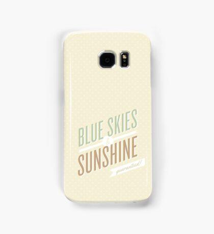 blue skies and sunshine! Samsung Galaxy Case/Skin