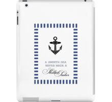 Anchor skilled Sailor iPad Case/Skin