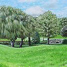 'The Weeping Willows at Chetola' by Jerry Kirk