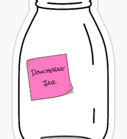 Douche Jar Sticker