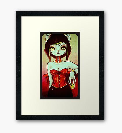 Minousha Framed Print