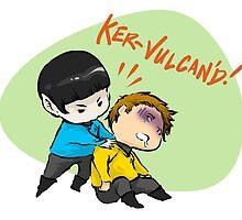 Vulcan'd! by Irene Flores