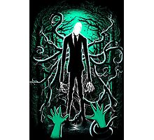 Slender Man 01 Photographic Print