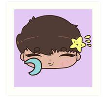 Bedtime Hakyeon Chibi | VIXX Art Print