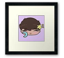 Bedtime Hakyeon Chibi | VIXX Framed Print