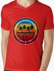 Sunset Beach Party Mens V-Neck T-Shirt