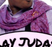 Gay Judas Sticker
