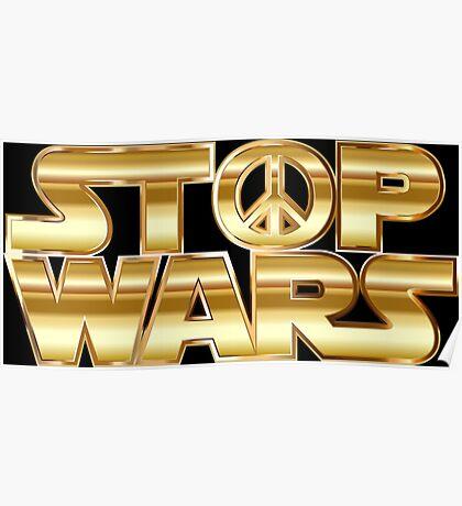 Star Wars Parody - Stop Wars  Poster