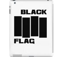 Black Flag tee iPad Case/Skin