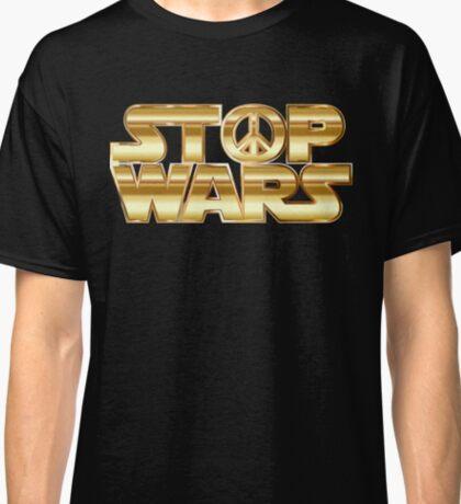 Star Wars Parody - Stop Wars  Classic T-Shirt