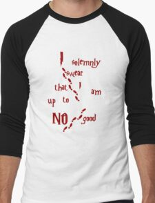 I solemnly swear that I am up to NO good Men's Baseball ¾ T-Shirt