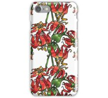 Flame Lilies iPhone Case/Skin
