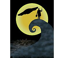 The Doctor's Nightmare Before Christmas Photographic Print