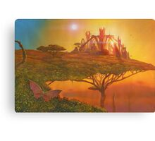 Sunset in the Double Star system in Carina constellation Canvas Print