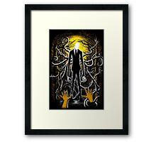 Slender Man 02 Framed Print